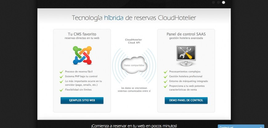 Nueva web CloudHotelier.com V2