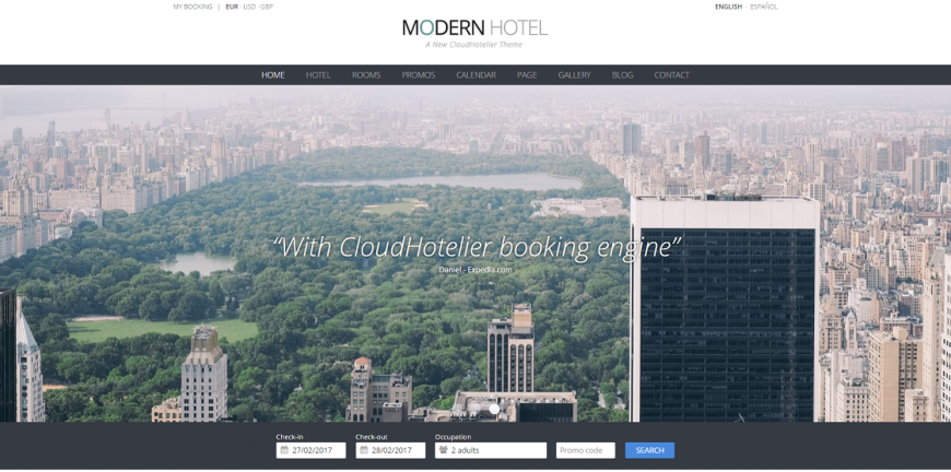 Find out how we create the hotel websites for our clients