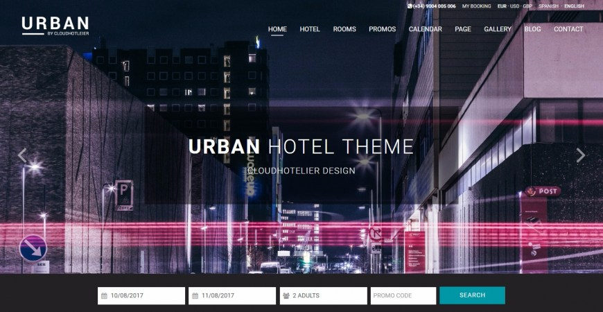 Urban: the new template for modern hotels